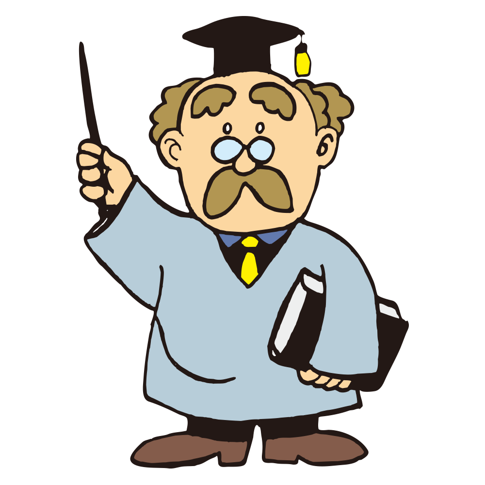 Schoolteacher doing Guide impression